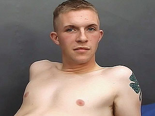 Handsome Twink Showing Off his balls Dick